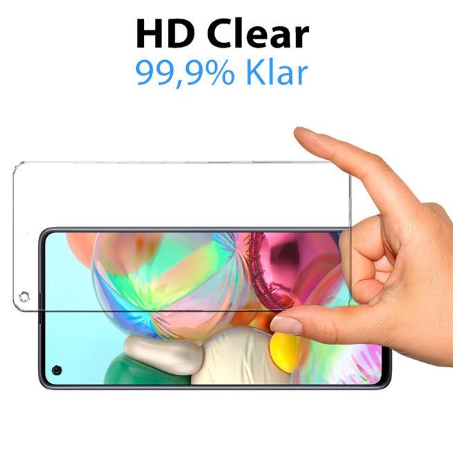 Panzerglas für Samsung Galaxy A21s Glas Folie Displayschutz Schutzfolie