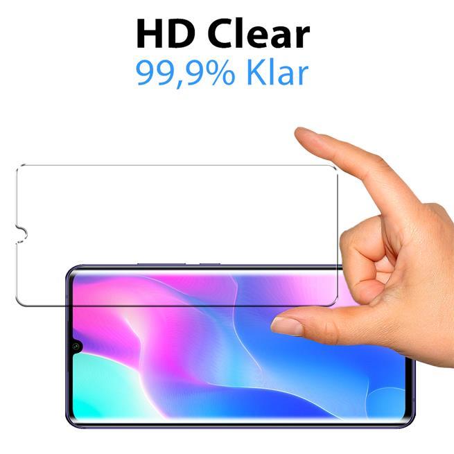 Panzerglas für Xiaomi Mi Note 10 Lite Glas Folie Displayschutz Schutzfolie