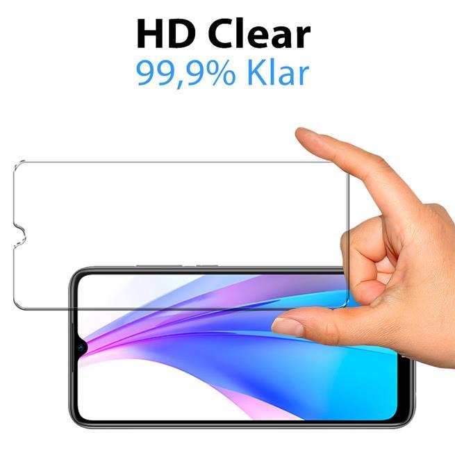 Panzerglas für Xiaomi Redmi Note 8T Glas Folie Displayschutz Schutzfolie