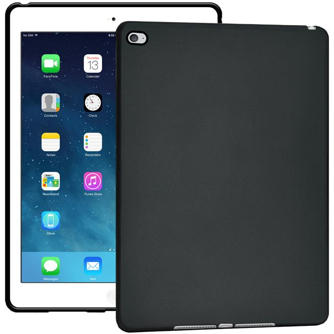 matte silikon h lle f r apple ipad air 2 backcover tasche case. Black Bedroom Furniture Sets. Home Design Ideas