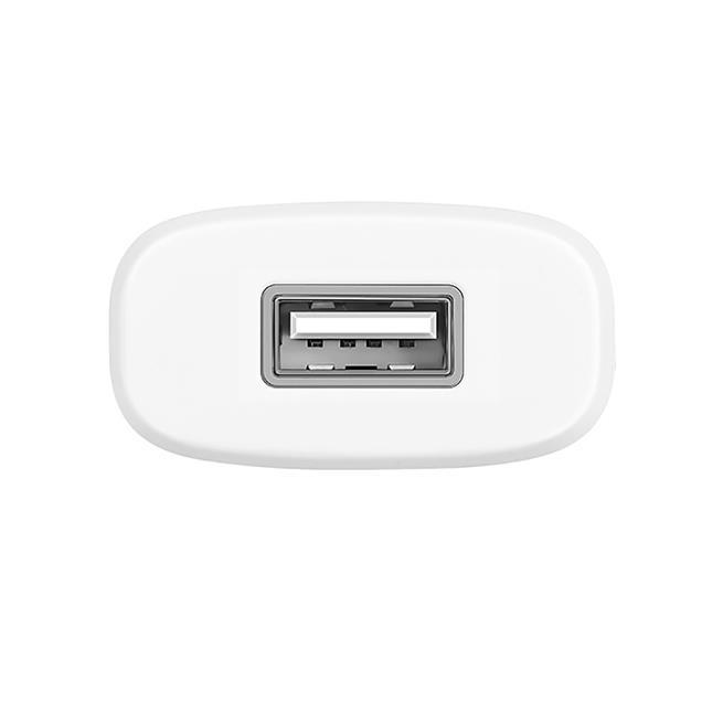 Hoco Netz-Ladegerät C11 mit Micro Kabel Lade Stecker Adapter Reiseladegerät in Weiss