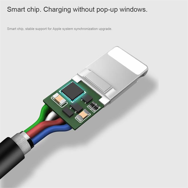 Hoco USB Kabel Flash X20 - 1m Micro USB Ladekabel verstärkte Kabelführung Datenkabel in Weiss