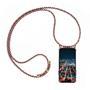 Handykette + Hülle für Apple iPhone 6 Plus, iPhone 6S Plus Schutzhülle mit Band Kordel Schnur Case zum umhängen