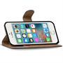 Basic Bookcase Hülle für Apple iPhone 5C Etui mit Kartenfächern