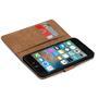 Basic Handyhülle für Apple iPhone 5C Hülle Book Case klappbare Schutzhülle