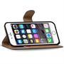 Basic Bookcase Hülle für Apple iPhone 6 Plus / 6S Plus Klapphülle Tasche mit Kartenfächer in Orange