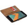 Basic Handyhülle für HTC 10 Hülle Book Case klappbare Schutzhülle