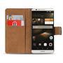 Basic Bookcase Hülle für Huawei Ascend Mate 7 Tasche mit Kartenfächern