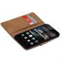 Basic Bookcase Hülle für Huawei P8 Lite Klapphülle Tasche mit Kartenfächer in Rot