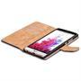 Basic Bookcase Hülle für LG G3 S klappbare Tasche mit Kartenfächern