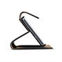 Basic Bookcase Hülle für LG K10 2017 Klapphülle Tasche mit Kartenfächern in Schwarz