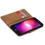 Basic Handyhülle für LG X Screen Hülle Book Case klappbare Schutzhülle