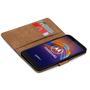 Basic Bookcase Hülle für Motorola Moto E6 Play Case klappbare Schutzhülle