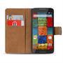 Basic Bookcase Hülle für Motorola Moto X 1. Generation Schutzhülle