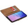 Basic Bookcase Hülle für Samsung Galaxy Note 10 Lite Case klappbare Schutzhülle