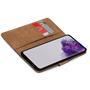 Basic Bookcase Hülle für Samsung Galaxy S20 Plus Case klappbare Schutzhülle