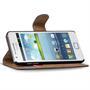 Basic Bookcase Hülle für Samsung Galaxy S2 / S2 Plus Schutzhülle