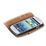 Basic Bookcase Hülle für Samsung Galaxy S3 Mini aufstellbares Etui