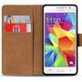 Basic Bookcase Hülle für Samsung Galaxy S5 / S5 Neo Schutzhülle