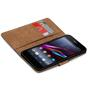 Basic Bookcase Hülle für Sony Xperia Z1 Case klappbare Schutzhülle