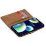 Basic Bookcase Hülle für Wiko View 4 / View 4 Lite Case klappbare Schutzhülle
