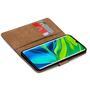 Basic Bookcase Hülle für Xiaomi Mi Note 10 Case klappbare Schutzhülle