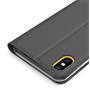 Slim Wallet Case für Apple iPhone XS Max aufstellbare Magnet Hülle