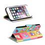 Motiv Klapphülle für Apple iPhone 7 Plus / 8 Plus buntes Wallet Case