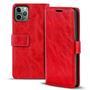 Retro Tasche für Apple iPhone 11 Pro Hülle Wallet Case Handyhülle Vintage Slim Cover