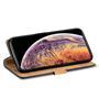 Retro Wallet Tasche für Apple iPhone 11 Pro Hülle Business Flip Case