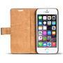Retro Klapptasche für Apple iPhone 5C Schutzcase mit Kartenfächern