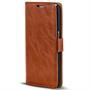 Retro Klapptasche für Samsung Galaxy A6 Plus aufstellbares Book Wallet