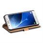 Retro Klapptasche für Samsung Galaxy J5 2016 aufstellbares Book Wallet