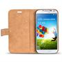 Retro Tasche für Samsung Galaxy S4 Hülle Wallet Case Handyhülle Vintage Slim Cover