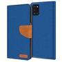 Handy Tasche für Samsung Galaxy A31 Hülle Wallet Jeans Case Schutzhülle