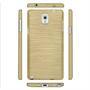 Brushed Silikonhülle für Samsung Galaxy Note 3 Schutzhülle Cover im gebürstetem Design Metallic Look in Gold