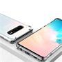 Anti Shock Hülle für Samsung Galaxy S10 Schutzhülle mit verstärkten Ecken Transparent Case