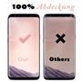3D Curved Fullscreen Glasfolie für Samsung Galaxy S8 Plus Plus Schutzfolie gewölbt Glas Folie in Schwarz