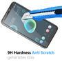 Panzer Glas Folie für HTC Desire 12 Schutz Folie 9H Echtglas