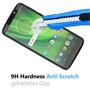 Panzer Glas Folie für Motorola Moto G6 Play Handy Schutz Folie 9H