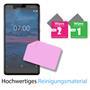 Panzer Glas Folie für Nokia 7 Handy Schutz Folie 9H Echtglas