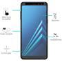 Panzerglas für Samsung Galaxy A8 2018 Glas Folie Displayschutz Schutzfolie