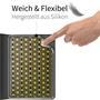 Klapphülle für Apple iPad Mini 1 / 2 / 3 Hülle Tasche Textil Case Schutzhülle