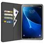Klapphülle für Samsung Galaxy Tab A (6) 10.1 2016 Hülle Tasche Textil Case Schutzhülle