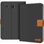 Klapphülle für Samsung Galaxy Tab E 9.6 Hülle Tasche Textil Case Schutzhülle