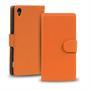 Basic Bookcase Hülle für Sony Xperia Z2 Schutzhülle mit Kartenfächern